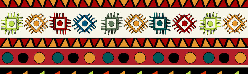 African Patterns by Wall Art Prints