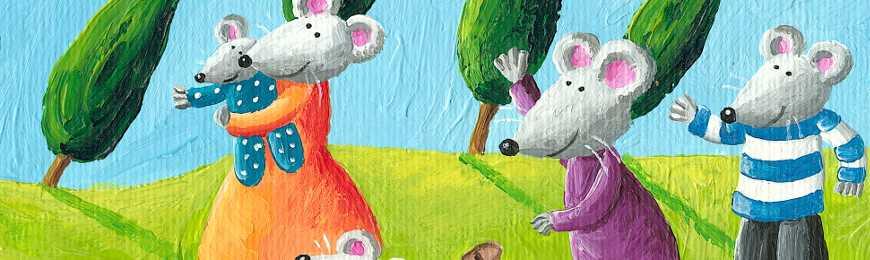 Animal Art For Kids by Wall Art Prints
