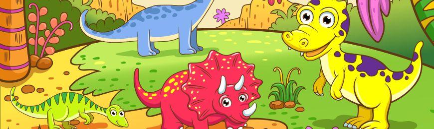 Dinosaur Art by Wall Art Prints
