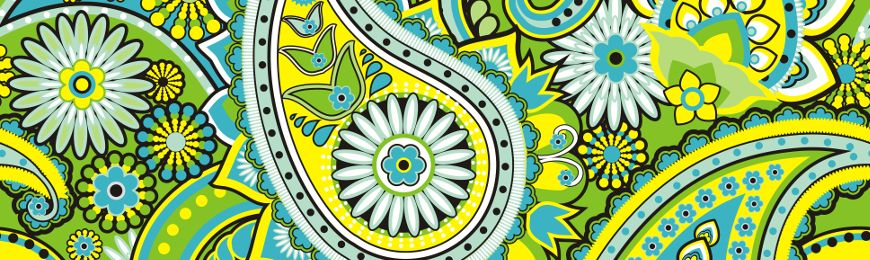 Paisley Pattern by Wall Art Prints