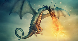 Wall Art Prints - Dragon Art
