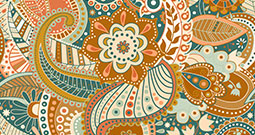 Wall Art Prints - Indian Patterns