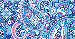 Wall Art Prints - Paisley Pattern