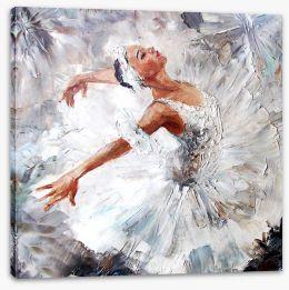 Prima ballerina Stretched Canvas 100958512