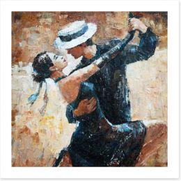 Tango for two Art Print 101626950