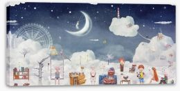 Children of the clouds Stretched Canvas 101835807