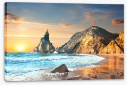 Oceans Stretched Canvas 102231688