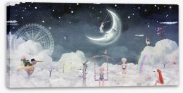 Magical Kingdoms Stretched Canvas 102266865