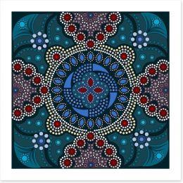 Jewels of the ocean Art Print 102553500