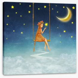 Magical Kingdoms Stretched Canvas 103358072