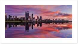Pink Perth sunrise