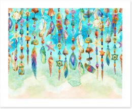 Watercolour Art Print 104822034