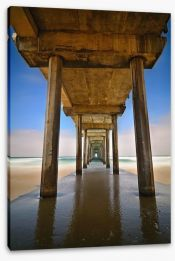 Jetty Stretched Canvas 104938429