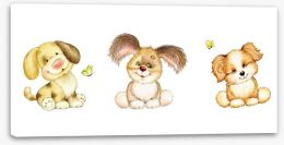 Teddy Bears Stretched Canvas 104968531