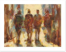 Man Cave Art Print 106736638