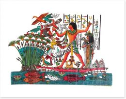 Hieroglyphic hunting