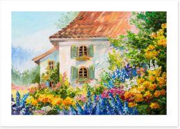 Summer Art Print 109030556