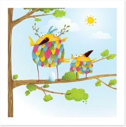 Fun Gardens Art Print 109422819