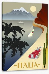 Travel Italy Stretched Canvas 109645190