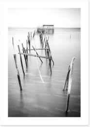 Black and White Art Print 110593867