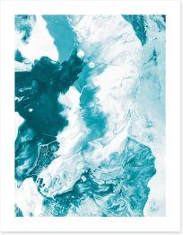 Ice break Art Print 110988911