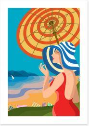 Beach House Art Print 111160275