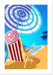 Beach House Art Print 111617894