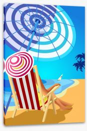 Beach House Stretched Canvas 111617894
