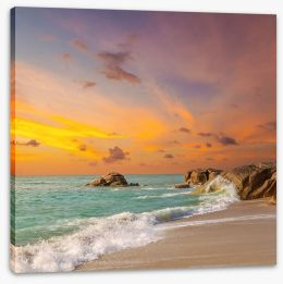 Beaches Stretched Canvas 111644790