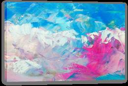 Magenta blush Stretched Canvas 111839507