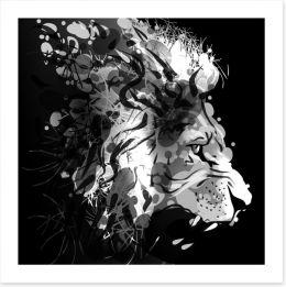 Black and White Art Print 111958558