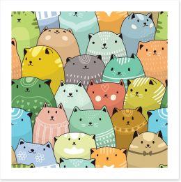 Crazy cats