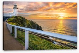 Sunrise at Cape Byron Stretched Canvas 113796526