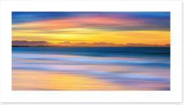 Luminous seascape Art Print 113796801