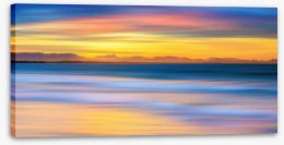 Luminous seascape Stretched Canvas 113796801