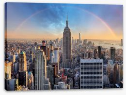 New York Stretched Canvas 113869179