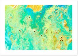 Island dreams Art Print 115430471