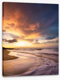 Beaches Stretched Canvas 116914738