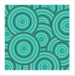 Aboriginal Art Art Print 119591366
