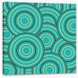Aboriginal Art Stretched Canvas 119591366