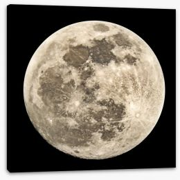 Full moon Stretched Canvas 120879554