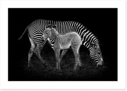 Black and White Art Print 121307929