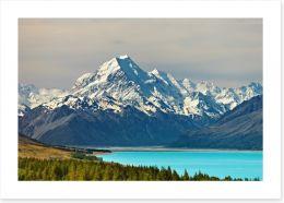 Magnificent Mount Cook Art Print 12172183