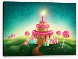 Magical Kingdoms Stretched Canvas 122662615