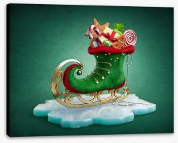 Christmas Stretched Canvas 123039283