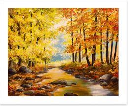 Autumn Art Print 125302970
