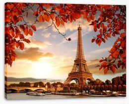 Paris Stretched Canvas 126000678