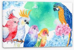 Birds Stretched Canvas 126636164