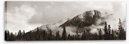 Mountains Stretched Canvas 127459139