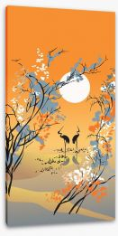 Four seasons - Autumn Stretched Canvas 12747933